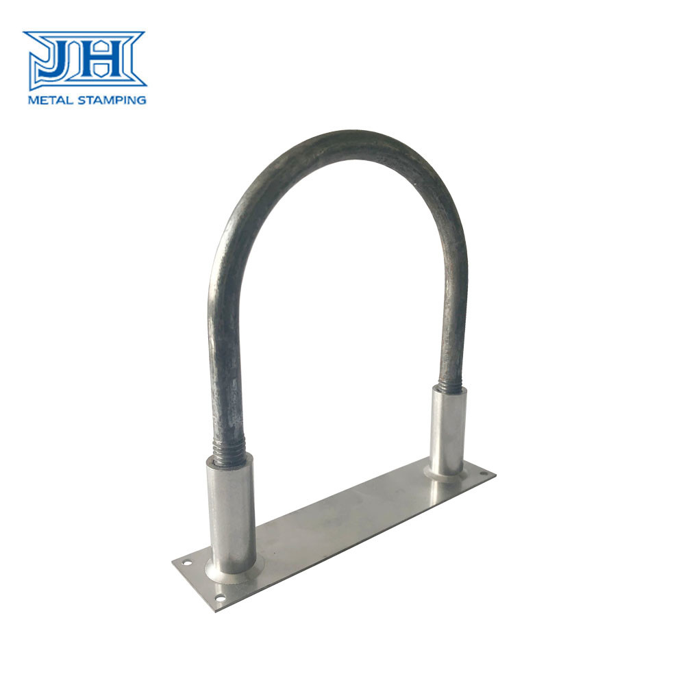 Galvanized Assembly Parts Stamping Customized Supporting Bracket